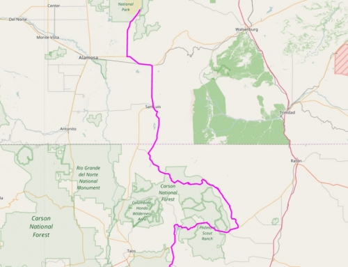 Enchanted Rockies Trail GPS Data – Angel Fire to Great Sand Dunes (NM/CO)