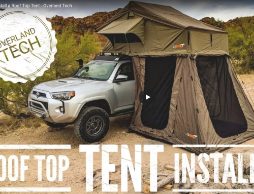 How to Install a Roof Top Tent – Overland Tech