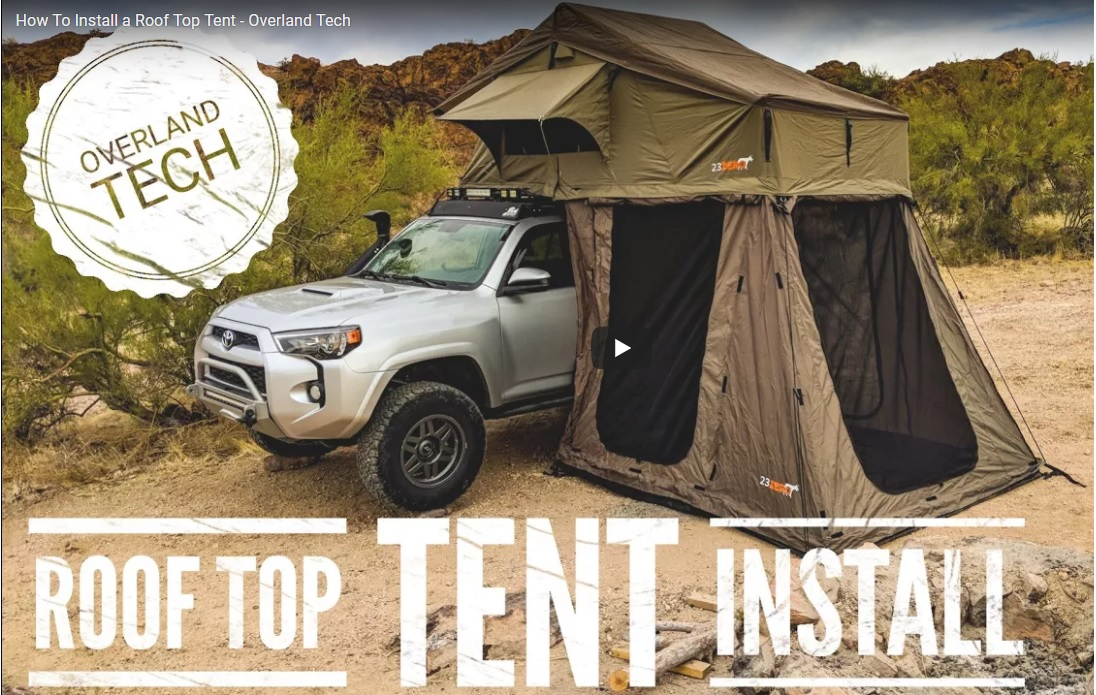& How to Install a Roof Top Tent - Overland Tech - Lifestyle Overland