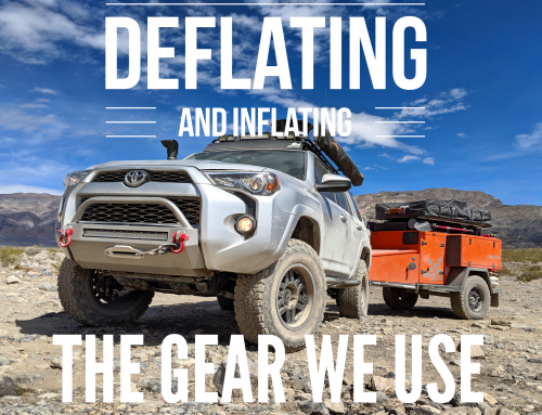 The Gear We Use – Deflating and Inflating