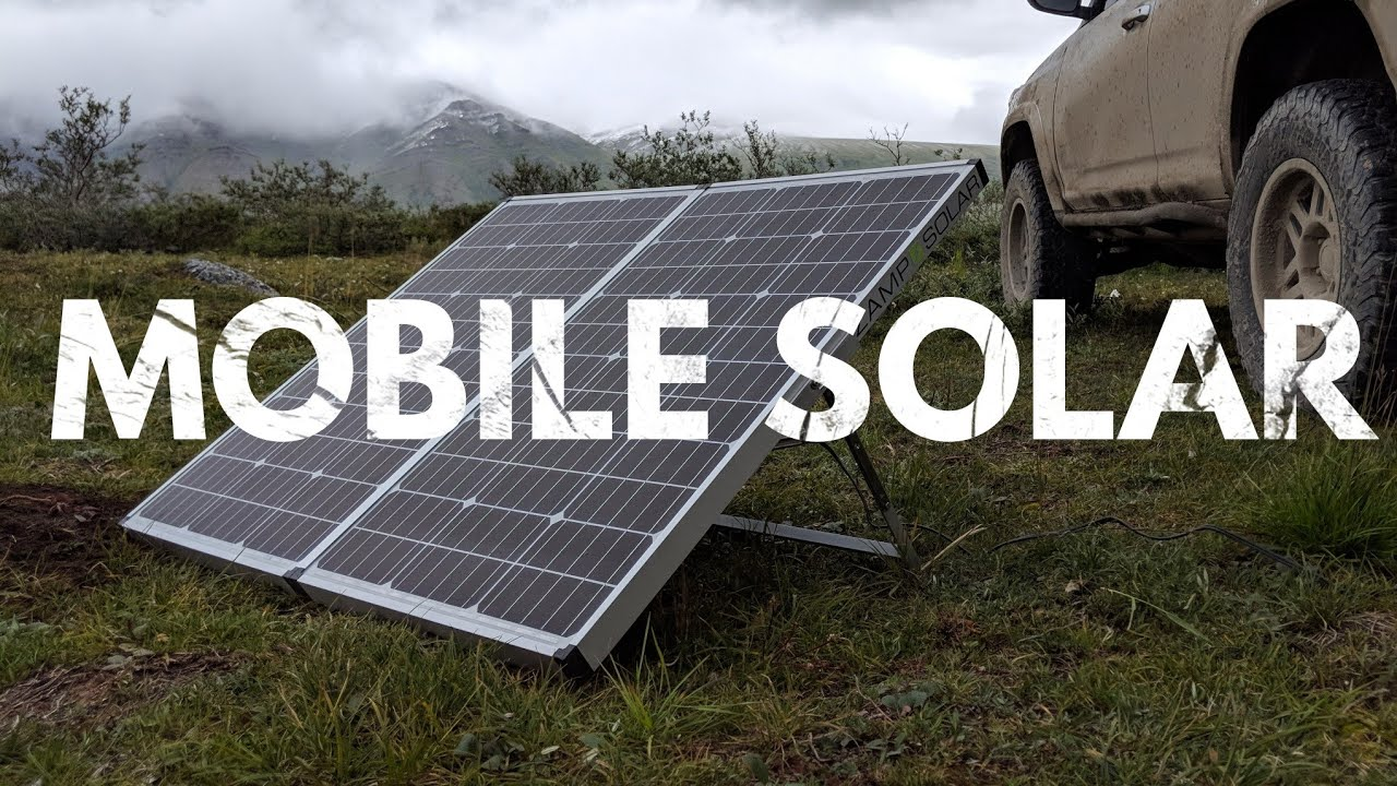 Solar Panel Charging Systems for Overland Adventure