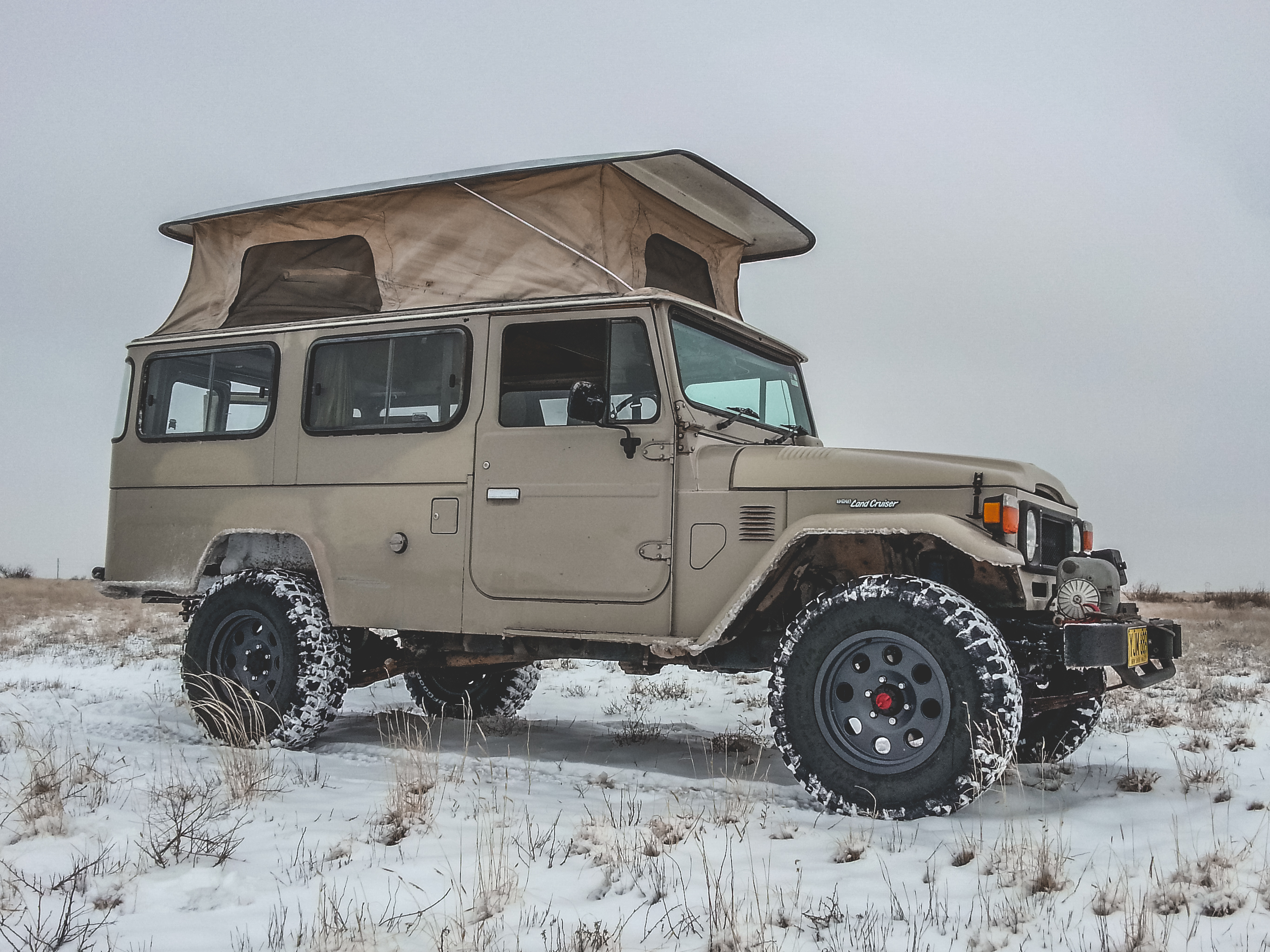 The Beast – HJ45 Land Cruiser Troopy (350 Horsepower)