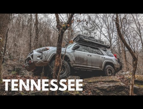 4Runner Camping in the Tennessee Backwoods